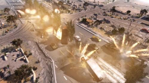 explosões em Call to Arms