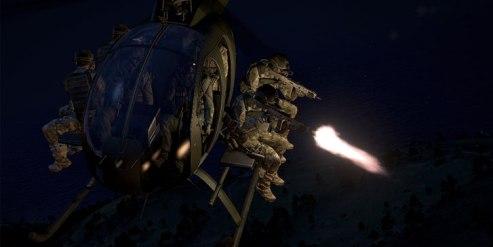 Agora é possível atirar de veículos em ArmA 3