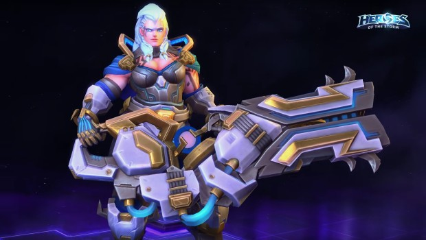 Overwatchs Zarya Will Soon Be Joining The Heroes Of The Storm Roster Gamesear