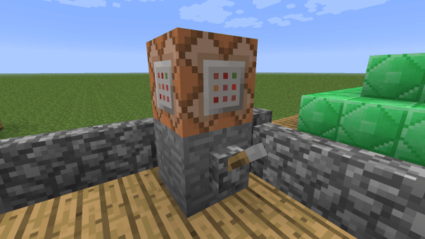Minecraft 1.4.2 Bloque de comandos