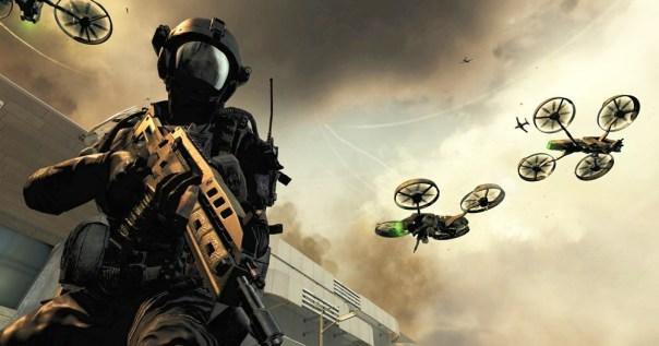 CoD Black Ops II Quadrotors