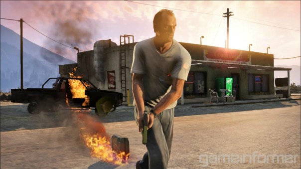 Grand Theft Auto V - Trevor (Gameinformer)
