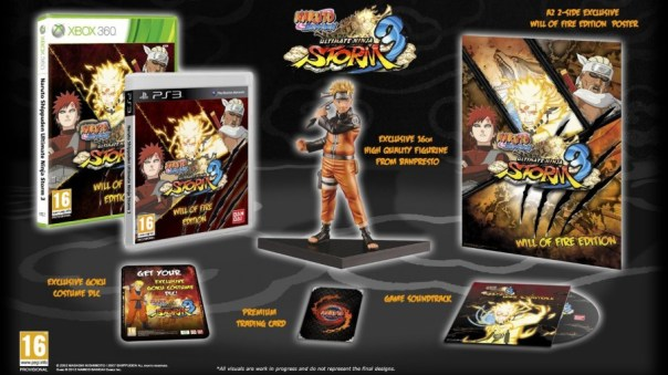 Naruto Shippuden: Ultimate Ninja Storm 3 Edición Will of Fire