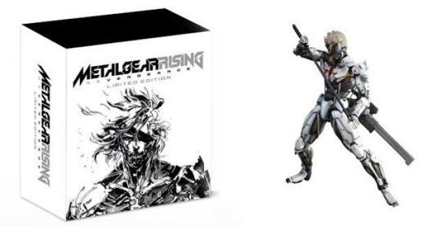 Metal Gear Solid: Rising Contenidos Edición Limitada Europea