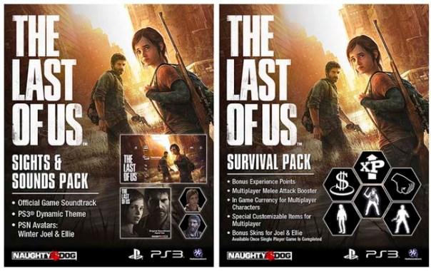 The Last of Us extras por reserva