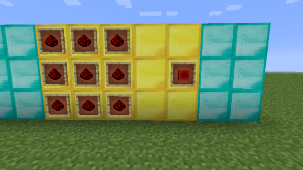 Crafteo bloque de redstone minecraft 1.5