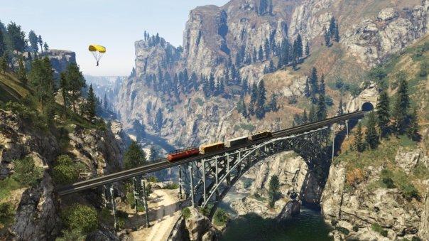 Grand Theft Auto V Parapente