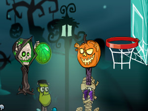 Halloween Basketball Legends Online Game Gameflare