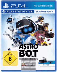 VR Astro Bot Rescue Mission PS-4
