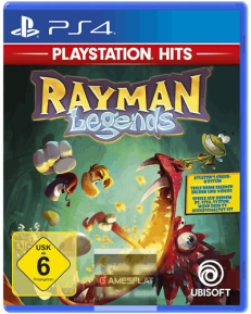 Rayman Legends PS-4 Playstation Hits