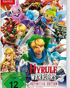 Hyrule Warriors CARD USK Switch