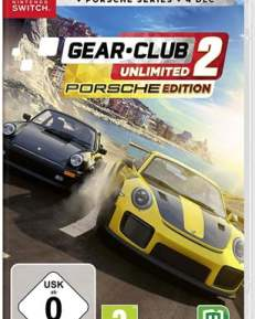 Gear Club Unlimited 2 Porsche-Ed CARD USK Switch