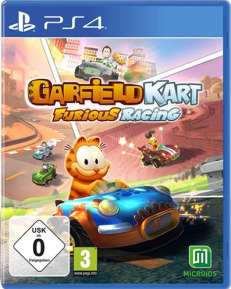 Garfield Kart Racing USK DISC PS4