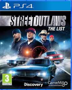 Street Outlaws DISC UK multi PS4