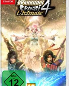 Warriors Orochi 4 Ultimate CARD USK Switch