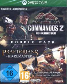 Commandos 2 + Praetorians  XB-ONE   2in1 HD Remastered