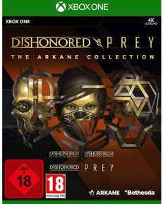 Arkane Collection  XB-One Dishonored + Prey USK+AT
