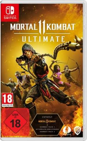 Mortal Kombat 11 Ultimate  Switch (CiaB) Code in a Box
