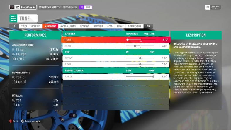 Forza Horizon 4 Drifting Guide - Car Setups, Car Tuning, Handbrakes