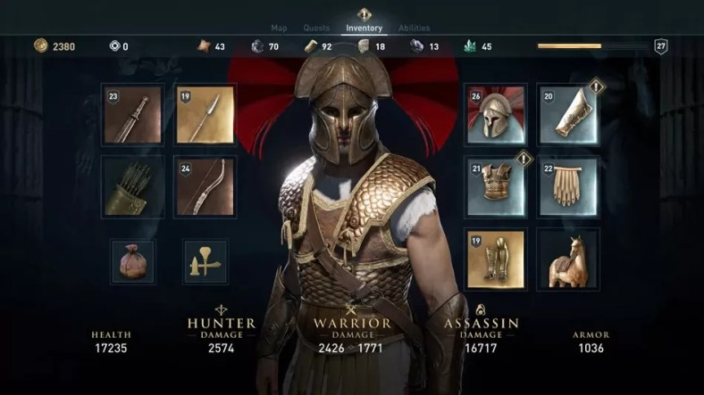 Assassin's Creed Odyssey Legendary Armor Guide – All Armor Location