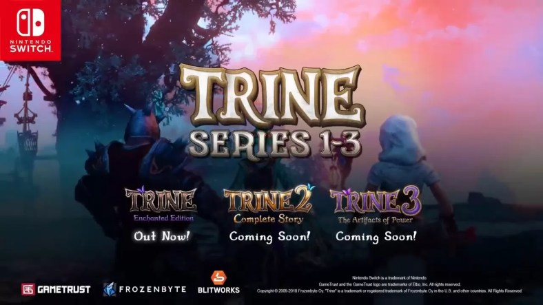 Frozenbyte Announces Trine Trilogy For Nintendo Switch Release - All