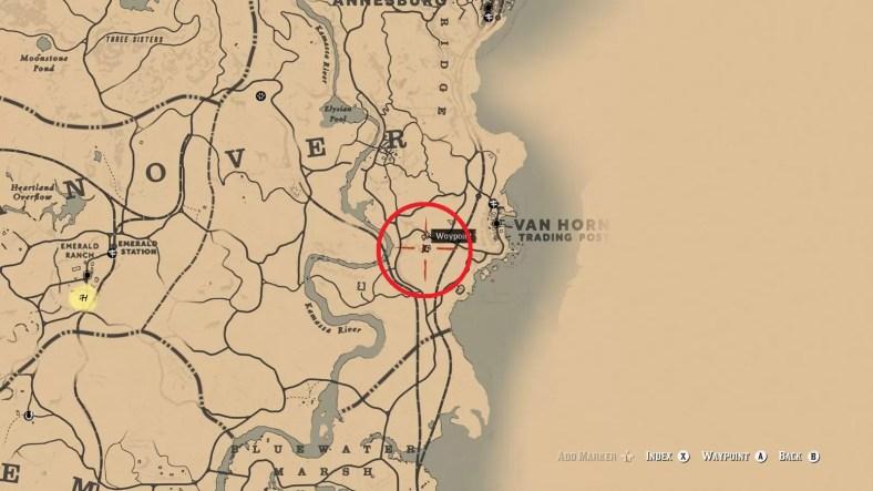 Red Dead Redemption 2 Poisonous Trail Treasure Locations