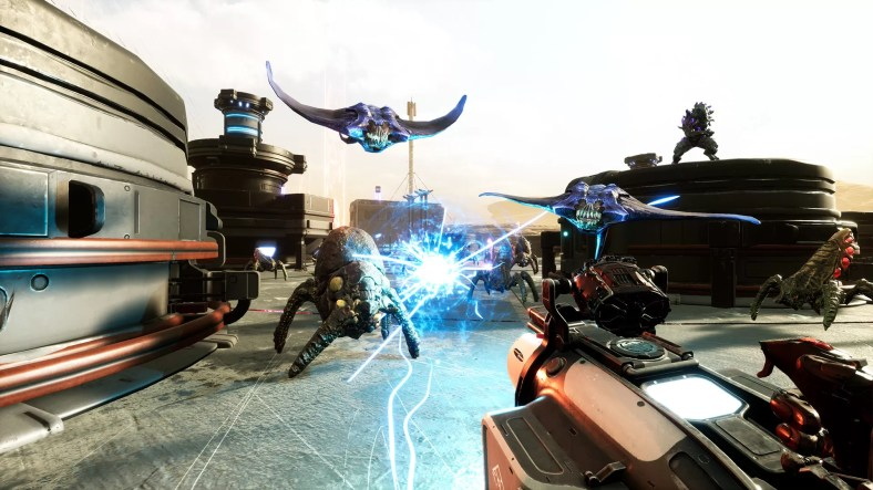 Sci-Fi Space VR Shooter Space Ops VR is Now Out on Steam