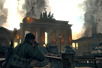 Sniper Elite V2 Remastered Branderburg Gate Collectibles