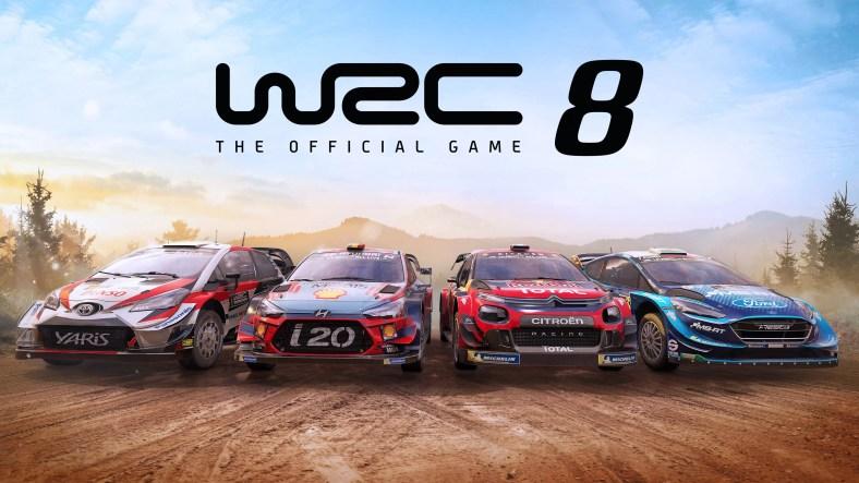 WRC 8 Launch