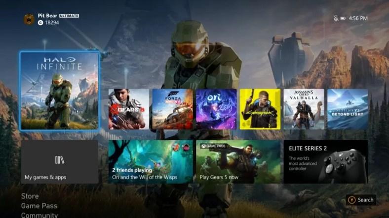 Pembaruan Xbox UI