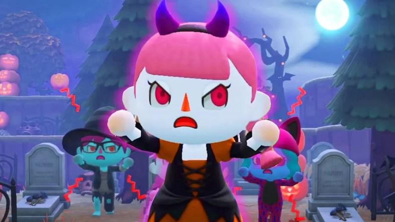 Panduan Kostum Halloween Animal Crossing New Horizons