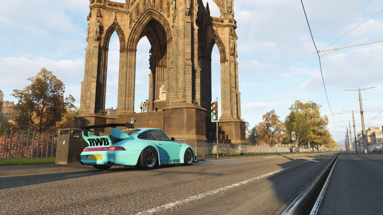 Forza Horizon 4 ScotlandTheBrave Photo Challenge