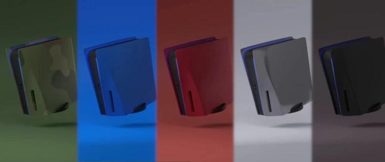 Pelat depan Sony PS5