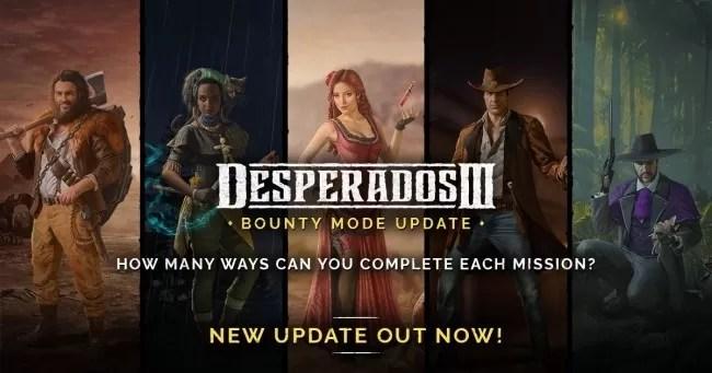 Mode Bounty Desperados III