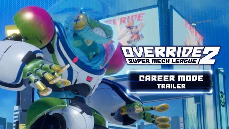 Override 2: Super Mech League Mendapat Mode Karir Detailing Trailer Baru