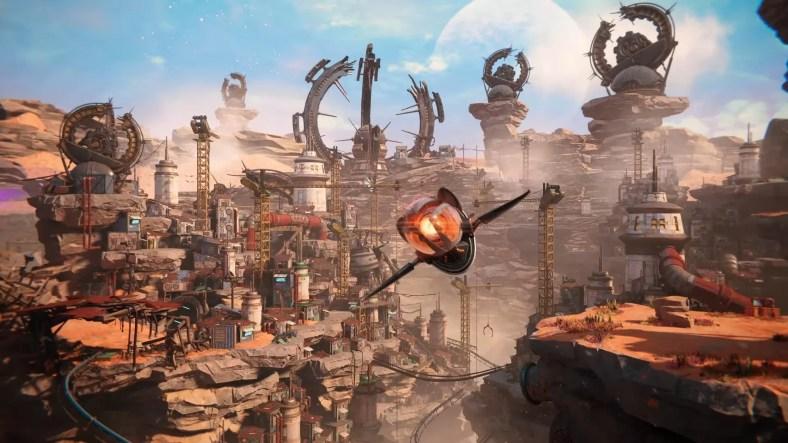 Gameplay Ratchet & Clank Rift Apart