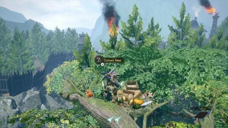 Panduan Hewan Peliharaan Monster Hunter Rise Cohoot