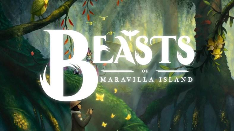 Binatang buas di Pulau Maravilla