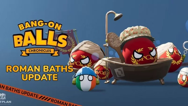 Bang-On Balls: Chronicles Roman Baths Update