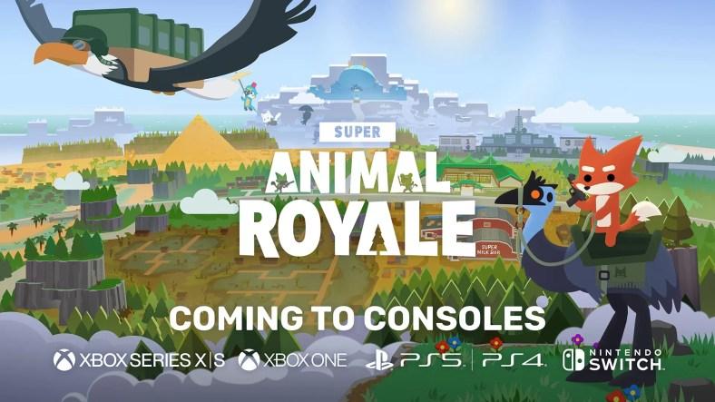 Konsol Super Animal Royale