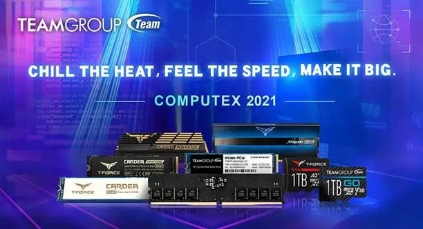 TEAMGROUP COMPUTEX 2021
