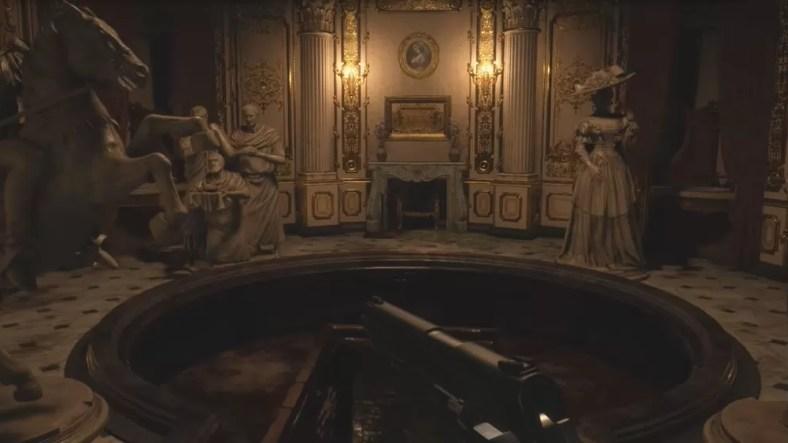 Cara Memecahkan Puzzle Patung di Desa Resident Evil 8