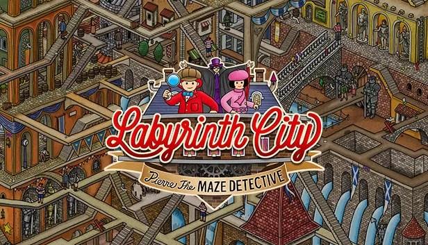 Kota Labirin: Pierre the Maze Detective