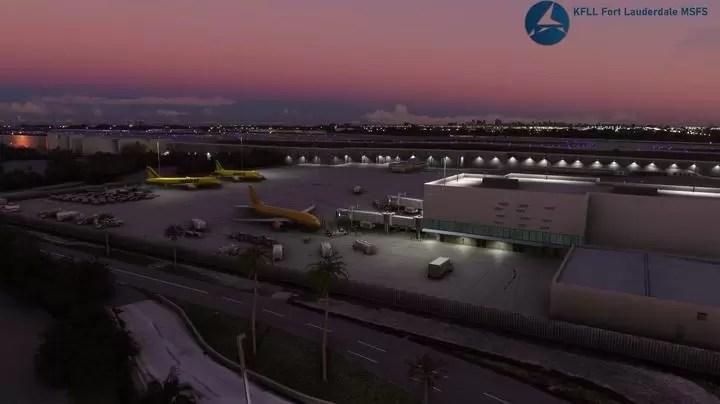 Bandara Simulator Penerbangan Microsoft