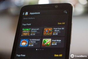 Amazon App Store no Blackberry Z30