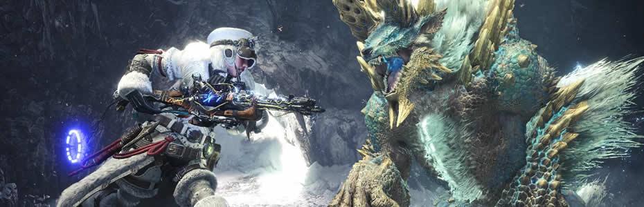Novo evento de Horizon Zero Dawn: The Frozen Wilds em Monster Hunter World: Iceborne