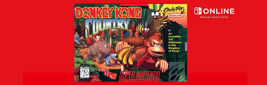 Donkey Kong Country entra para o Nintendo Switch OnLine em Julho