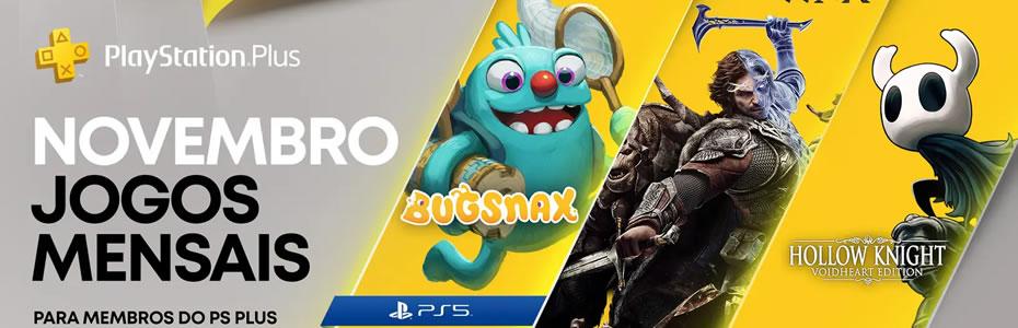 Jogos Gratuitos da PS Plus de Novembro 2020