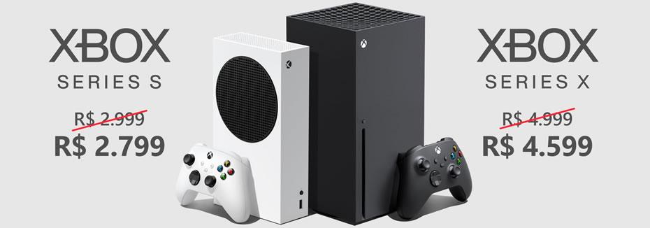 Microsoft Anuncia Queda nos Preços do Xbox Series X e S