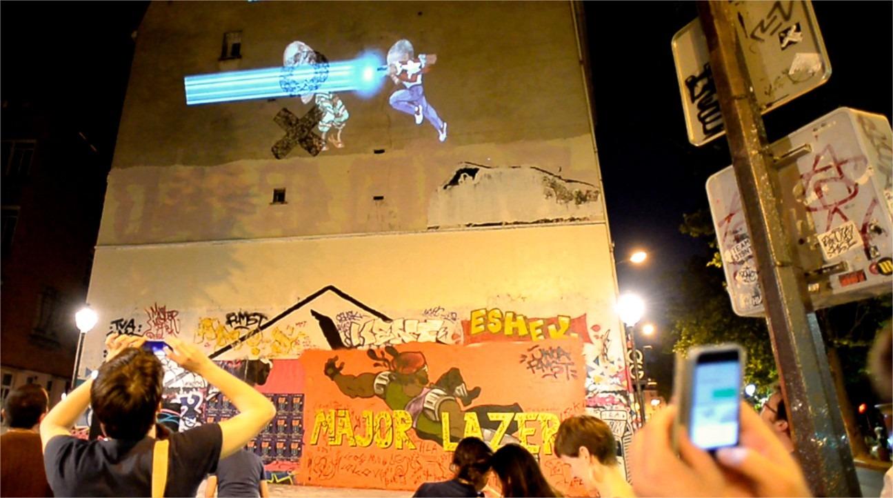 Holofighters : quand le Jeu Vidéo devient du Street Art